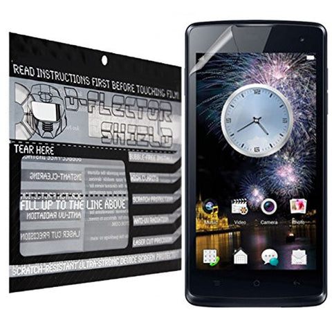 D-Flectorshield Oppo R2001 Yoyo Scratch Resistant Screen Protector - Free Replacement Program