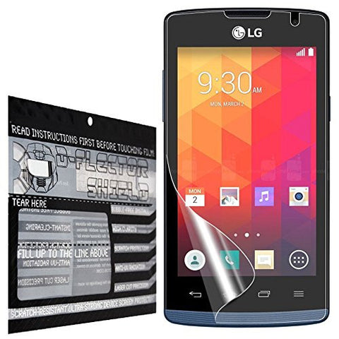 DFlectorshield Premium Scratch Resistant Screen Protector for the LG Joy HD Protection with free Lifetime Replacement Program