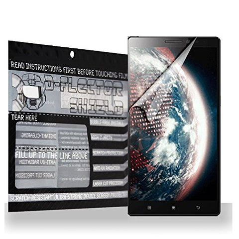D-flectorshield Scratch Resistant Screen Protector for Lenovo Vibe Z2 - Free Replacement Program
