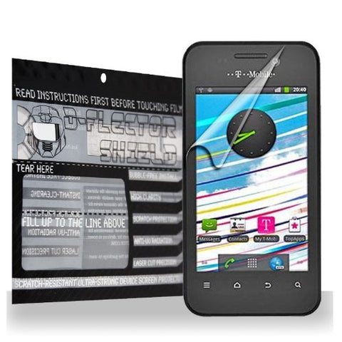 D-Flectorshield T-Mobile Vivacity Scratch Resistant Screen Protector - Free Replacement Program