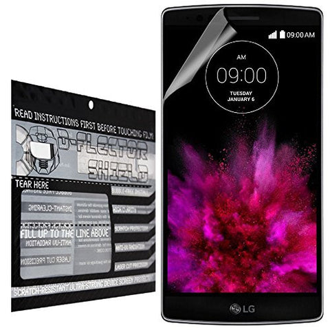 D-Flectorshield LG G-Flex G Flex 2 Scratch Resistant Screen Protector - Free Replacement Program