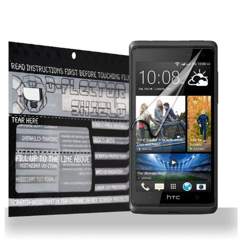D-Flectorshield HTC Desire 600 Scratch Resistant Screen Protector - Free Replacement Program