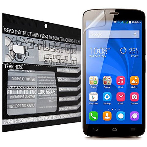 D-Flectorshield Huawei Honor 6X Scratch Resistant Screen Protector - Free Replacement Program