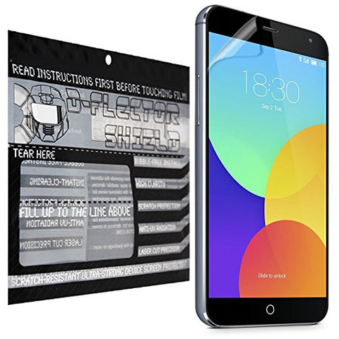 D-Flectorshield Meizu K52 Scratch Resistant Screen Protector - Free Replacement Program