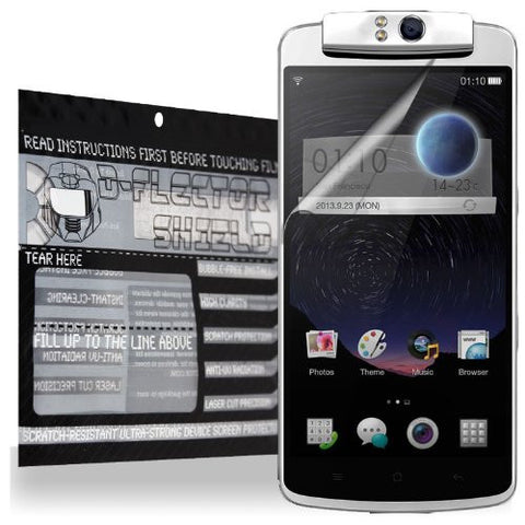 D-Flectorshield Scratch Resistant Oppo N1 Screen Protector - Free Replacement Program