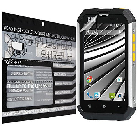 D-Flectorshield Cat B15Q pro Scratch Resistant Screen Protector - Free Replacement Program
