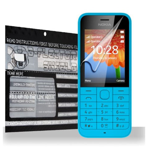 D-Flectorshield Nokia 220 Scratch Resistant Screen Protector - Free Replacement Program