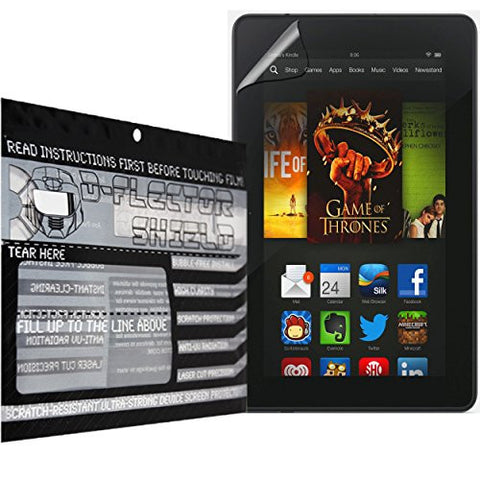 D-Flectorshield Amazon Fire HD 7 Scratch Resistant Screen Protector - Free Replacement Program