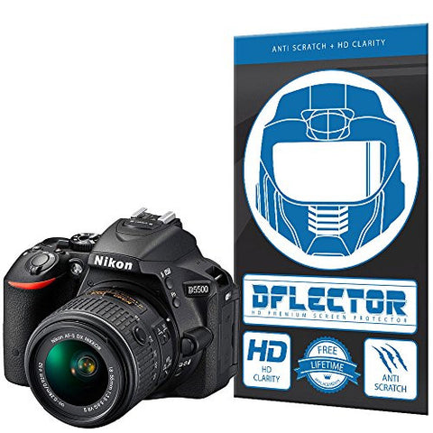 DFlectorshield Screen Protector for the Nikon D5500 with free lifetime replacement program