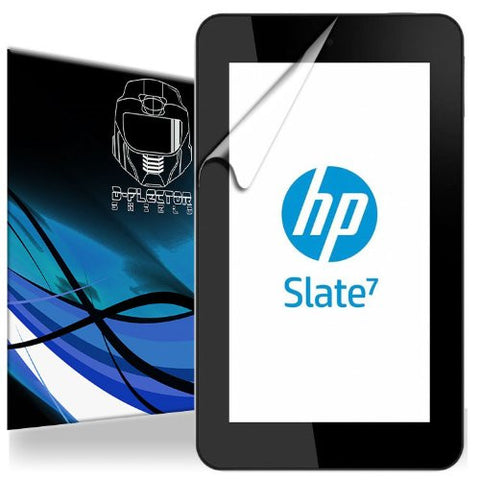 "D-Flectorshield HP Slate 7 4600 7"" Tablet Scratch Resistant Screen Protector - Free Replacement Program"