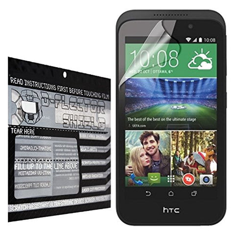 D-Flectorshield HTC Desire 320 Scratch Resistant Screen Protector - Free Replacement Program