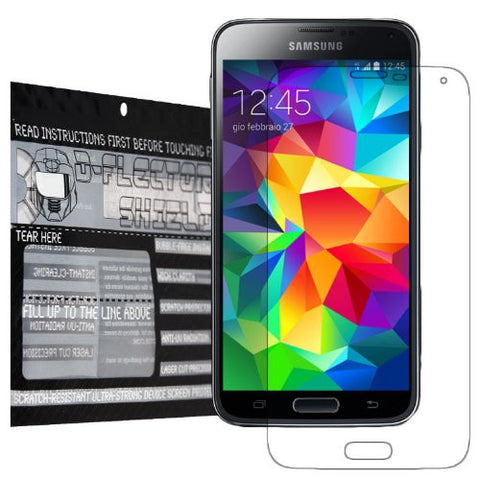 D-Flectorshield Scratch Resistant Samsung Galaxy S5 Premium screen protector with free lifetime replacement