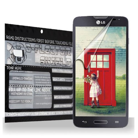 D-Flectorshield LG L90 Scratch Resistant Screen Protector - Free Replacement Program