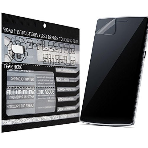 D-Flectorshield OnePlus One Scratch Resistant Screen Protector - Free Replacement Program