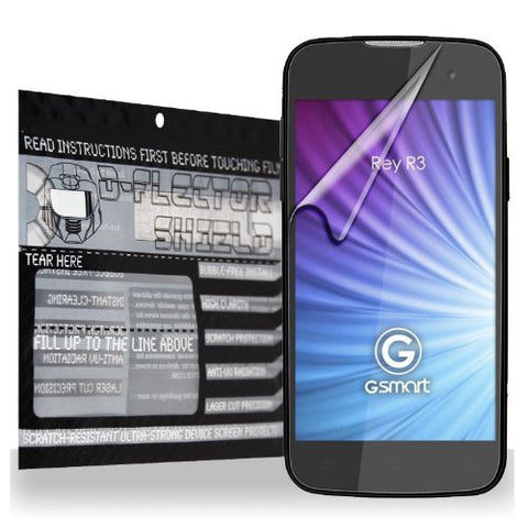 D-Flectorshield Gigabyte Gsmart Rey R3 Scratch Resistant Screen Protector - Free Replacement Program