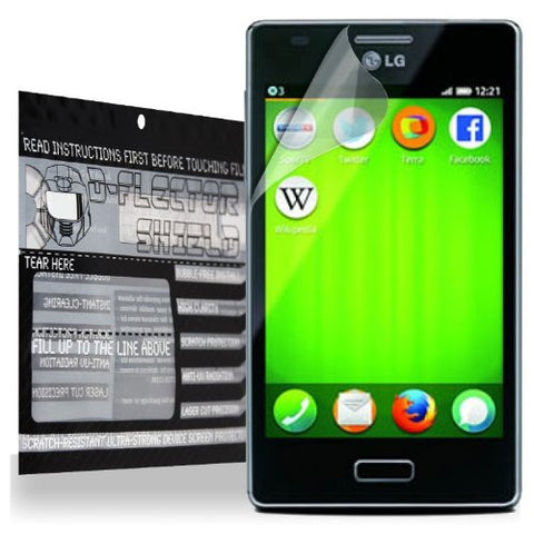 D-Flectorshield LG Fireweb Scratch Resistant Screen Protector - Free Replacement Program