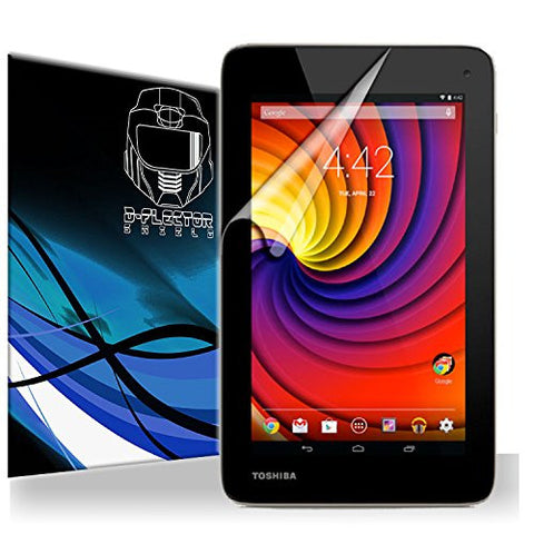 D-Flectorshield Scratch Resistant Toshiba Excite go Premium screen protector/anti-scratch/scratch resistant/self-healing technology/oleophobic material/high definition/bubble free install/Precise and accurate fitment with lifetime free replacement program