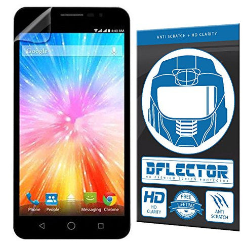 DFlectorshield Screen Protector for the Panasonic Eluga L2 with free lifetime replacement program