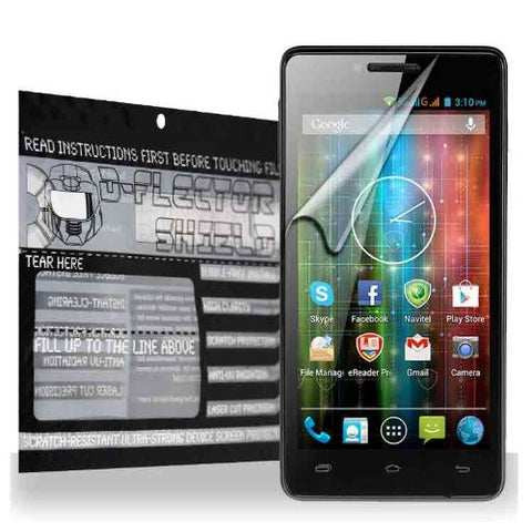 D-Flectorshield Prestigio MultiPhone 5451 Duo Scratch Resistant Screen Protector - Free Replacement Program