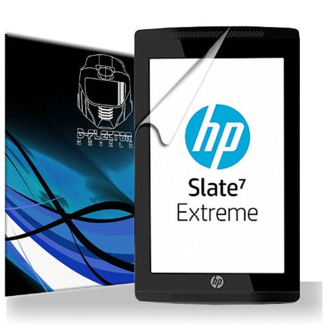 D-Flectorshield Scratch Resistant HP Slate7 Extreme Premium screen protector/anti-scratch/scratch resistant/self-healing technology/oleophobic material/high definition/bubble free install/Precise and accurate fitment