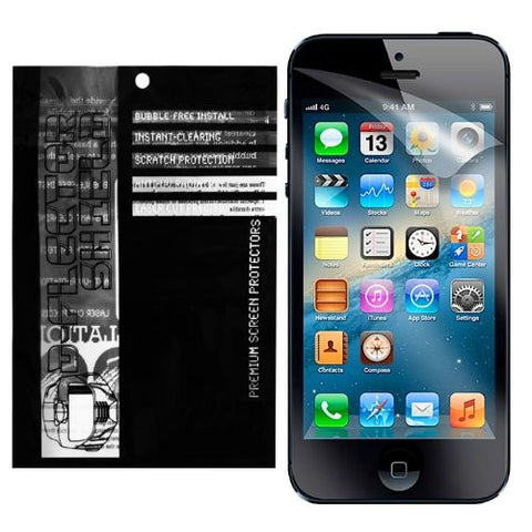 D-Flectorshield Instant Clear APPLE iPHONE 5S Screen Protector (3 PACK) iPHONE 5