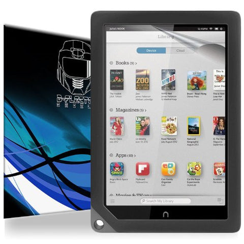 D-Flectorshield Barnes And Noble Nook HD+ Scratch Resistant Screen Protector - Free Replacement Program