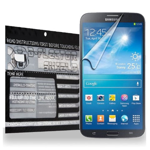 D-Flectorshield Samsung Galaxy Mega 5.8 I9150 Scratch Resistant Screen Protector - Free Replacement Program