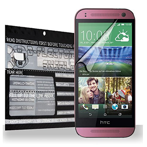 D-flectorshield HTC Desire 820 Scratch Resistant Screen Protector - Free Replacement Program
