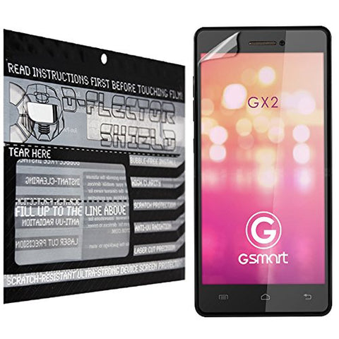 D-Flectorshield Gigabyte Gsmart Gx2 Scratch Resistant Screen Protector - Free Replacement Program