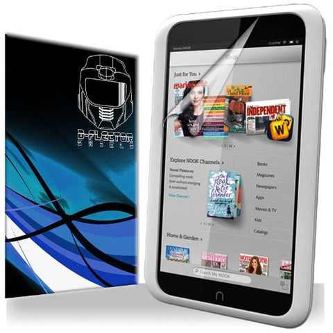 D-Flectorshield Barnes And Noble Nook HD Scratch Resistant Screen Protector - Free Replacement Program