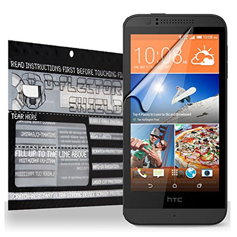 D-Flectorshield HTC Desire 510 Scratch Resistant Screen Protector - Free Replacement Program