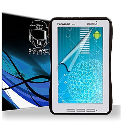 D-Flectorshield Panasonic Toughpad JT-B1 Screen Protector Scratch Resistant / Self Healing Technology / HD Clarity / lint and bubble free Installation