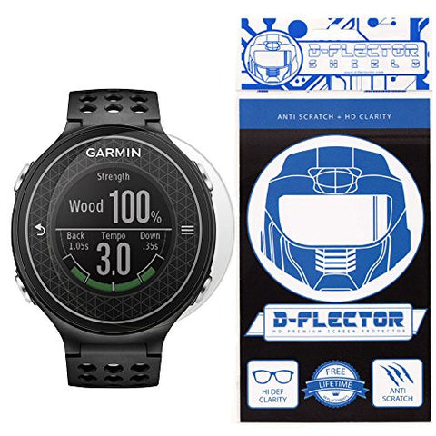 (3 PACK) DFlectorshield Screen Protector for the Garmin Approach S6 with free Lifetime Replacement Program