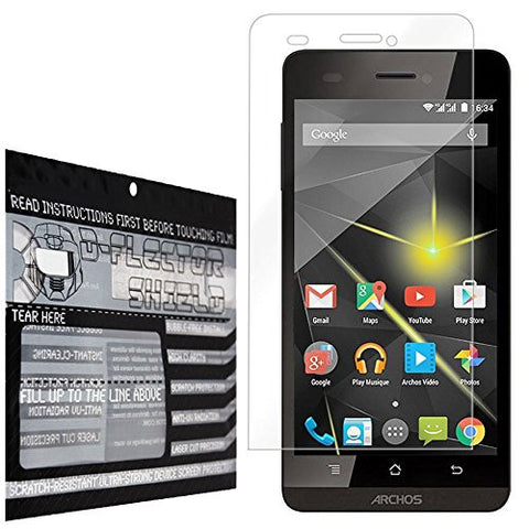 DFlectorshield Premium Scratch Resistant Screen Protector for the Archos 50 Diamond HD Protection with free Lifetime Replacement Program