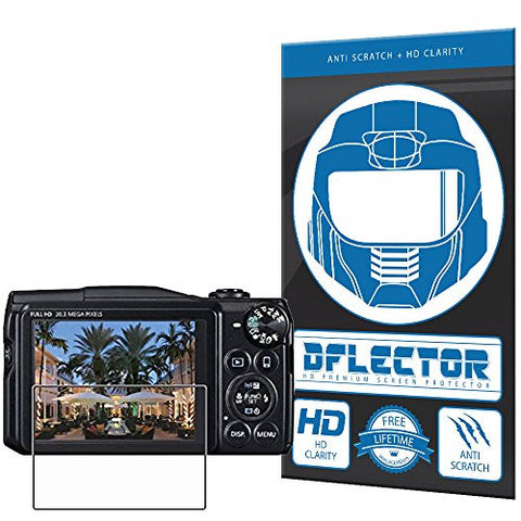 DFlectorshield Screen Protector for the Canon PowerShot SX600 SX610 SX700 SX710 HS with free lifetime replacement program