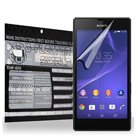 D-Flectorshield Scratch Resistant Sony Xperia T3 Premium screen protector/anti-scratch/scratch resistant/self-healing technology/oleophobic material/high definition/bubble free install/Precise and accurate fitment with lifetime free replacement program