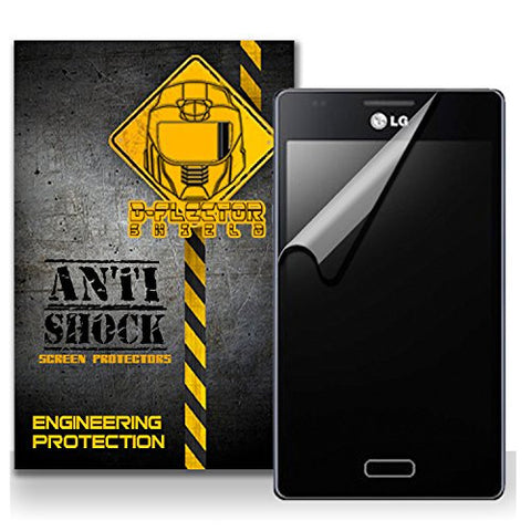 D-Flectorshield LG Fireweb Anti-Shock/military grade/ TPU /Premium Screen Protector / self healing / oleophobic material / EZ install / ultra high definition / scratch proof / bubble free install / precise laser cuts