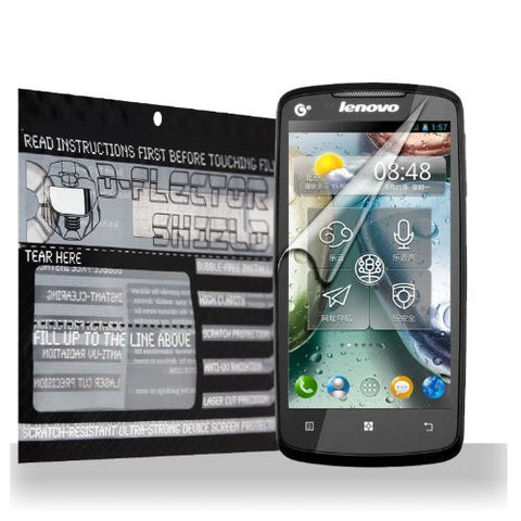 D-Flectorshield Lenovo A630 Scratch Resistant Screen Protector - Free Replacement Program