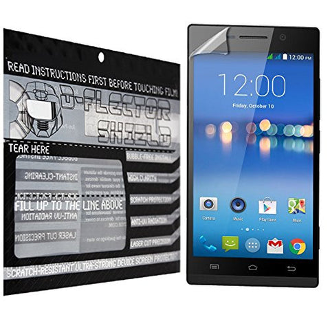 D-Flectorshield Gigabyte Gsmart Mika m3 Scratch Resistant Screen Protector - Free Replacement Program
