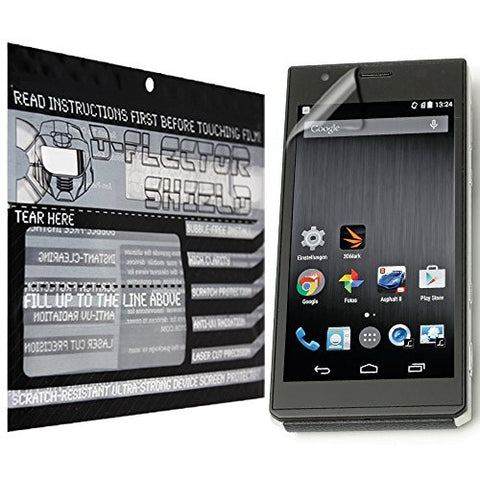D-Flectorshield Panasonic DMC-CM1 Scratch Resistant Screen Protector - Free Replacement Program