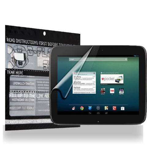 D-Flectorshield Google Nexus 10 Scratch Resistant Screen Protector