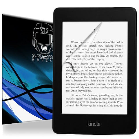 "D-Flectorshield Amazon Kindle 6"" E-Ink Display Scratch Resistant Screen Protector - Free Replacement Program"