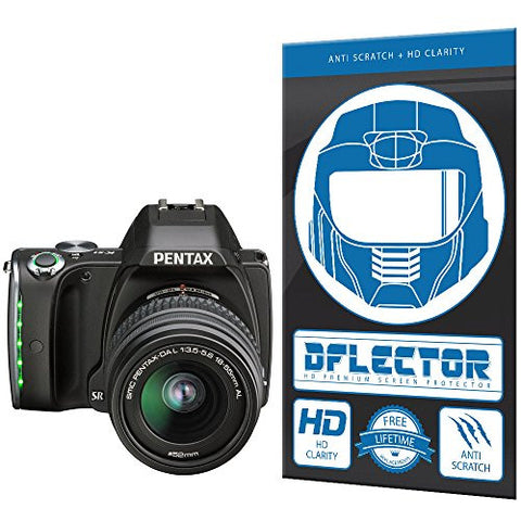 DFlectorshield Screen Protector for the Pentax K-S1 with free lifetime replacement program
