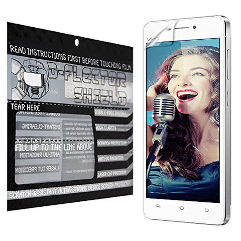 D-Flectorshield Vivo X5 Max Scratch Resistant Screen Protector - Free Replacement Program