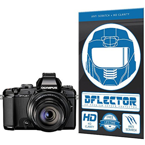 DFlectorshield Screen Protector for the Olympus Stylus 1S Digital Camera with free lifetime replacement program
