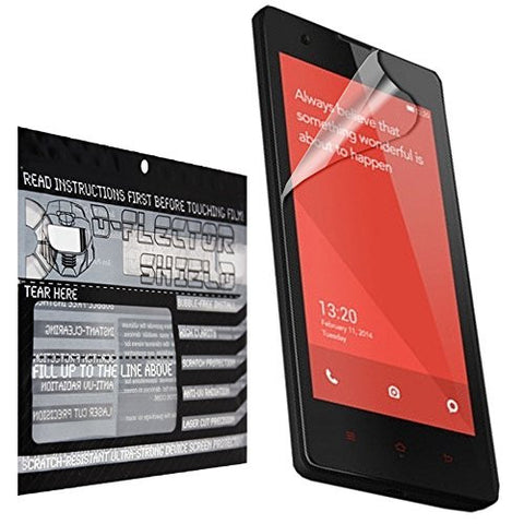 D-Flectorshield Xiaomi Redmi 2 Scratch Resistant Screen Protector - Free Replacement Program