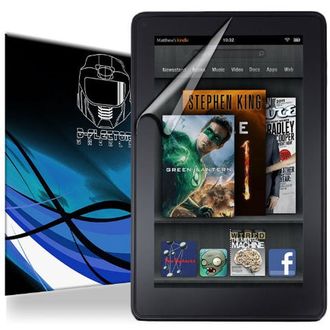D-Flectorshield Amazon Kindle Fire 2012 Scratch Resistant Screen Protector - Free Replacement Program