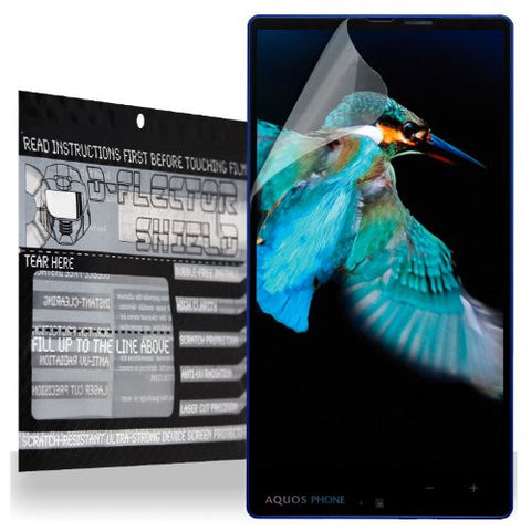 D-Flectorshield Sharp Aquos XX Scratch Resistant Screen Protector - Free Replacement Program