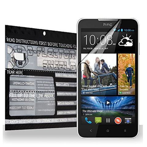 D-Flectorshield Scratch Resistant HTC Desire 516 Premium screen protector/anti-scratch/scratch resistant/self-healing technology/oleophobic material/high definition/bubble free install/Precise and accurate fitment with lifetime free replacement program