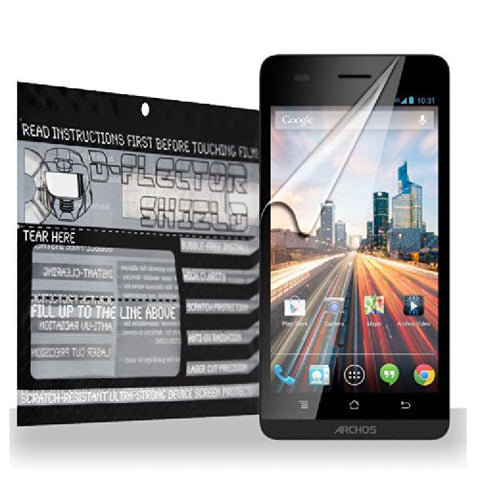 D-Flectorshield Archos Helium 8 inch 4G Screen Protector Scratch Resistant / Self Healing Technology / HD Clarity / lint and bubble free Installation